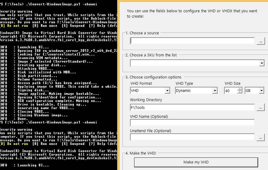How to convert a WIM or ISO file to VHDX or VHD – Easy   mcloudinfo